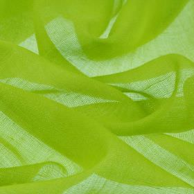 Locking CS - Green (22) - Lime green coloured fabric made entirely from very bright Trevira CS