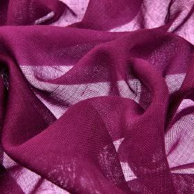 Locking CS - Purple (24) - Very thin fabric made from 100% Trevira CS in a deep, rich magenta-purple colour