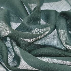 Locking CS 300cm - Emerald - Very thin 100% Trevira CS fabric made in a dark blue-grey colour
