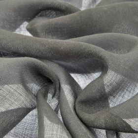 Locking CS - Grey (15) - Plain iron grey coloured 100% Trevira CS fabric