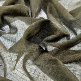 Sousta CS - Taupe (15) - Thin, very dark grey coloured 100% Trevira CS fabric which has a very subtle green tinge to it