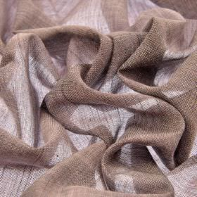 Sousta CS - Lilac (18) - 100% Trevira CS fabric which has been woven very thinly in a light pinkish grey colour