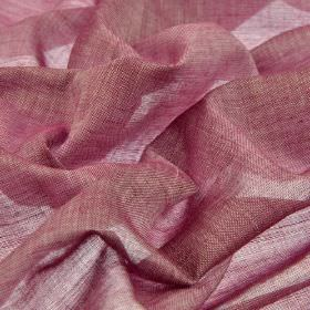 Sousta CS - Pink (19) - Very thin 100% Trevira CS fabric made in a plain colour that's a blend of fuschia and grey