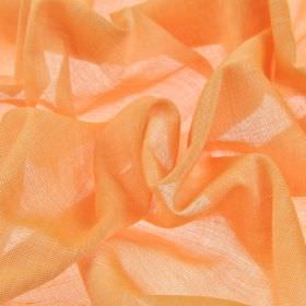 Sousta CS - Orange (21) - Plain 100% Trevira CS fabric made in a very summery, light shade of orange