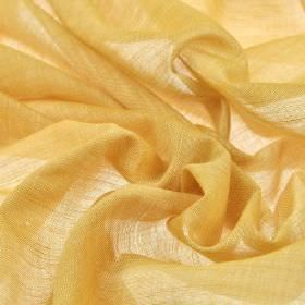 Sousta CS - Gold (22) - Thin fabric made from honey coloured 100% Trevira CS