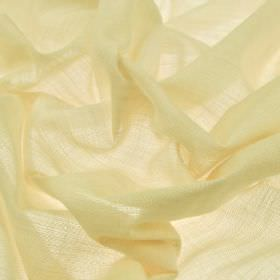 Sousta CS - Egg Shell (23) - Fabric made from 100% Trevira CS in a very pale shade of lemon yellow