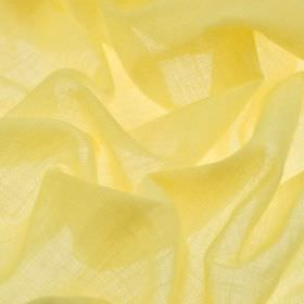 Sousta CS - Yellow (24) - Lemon yellow coloured 100% Trevira CS fabric