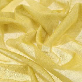 Sousta CS - Straw (25) - 100% Trevira CS fabric which is very thin, covered with a bright citrus yellow-green colour