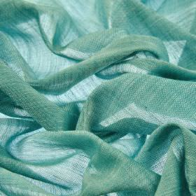 Sousta CS - Teal (28) - Duck egg blue coloured 100% Trevira CS fabric which is plain and very thin