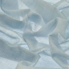 Sousta CS - Sky Blue (29) - 100% Trevira CS fabric made in such a pale shade of blue that it almost appears to be white