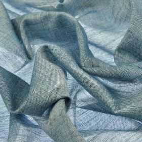 Sousta CS 307cm - Blue - Thinly woven, light grey coloured 100% Trevira CS fabric which has a very subtle hint of light blue
