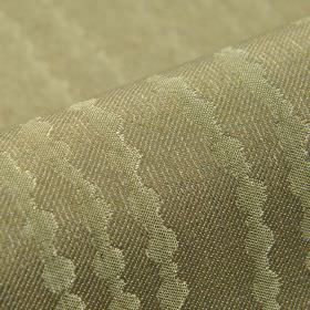 Eliot - Taupe (6) - 100% polyester fabric featuring a subtle pattern of lines made up of dots in two similar shades of grey mixed with green