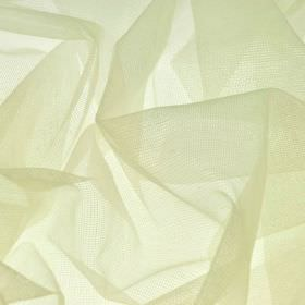 Jonson - Cream - Very pale yellow-cream coloured polyester and nylon blend fabric which is extremely thin and loosely woven