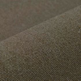 Samba - Brown (10) - Dark cocoa brown coloured fabric made from cotton and viscose, made with a very subtle hint of dark grey