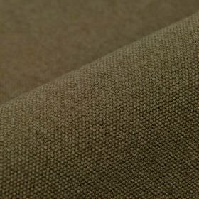 Samba - Brown (11) - Fabric blended from cotton and viscose in a very dark shade of forest green