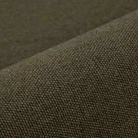 Samba - Brown (12) - A plain dark forest green-grey colour covering fabric made from cotton and viscose