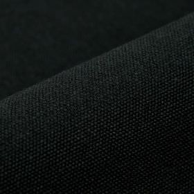 Samba - Black - Obsidian coloured cotton and viscose blend fabric