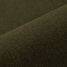 Samba - Brown (14) - Fabric made in a very dark green-grey colour from a blend of cotton and viscose