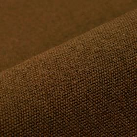 Samba - Brown (15) - Chestnut brown coloured fabric made with a 75% cotton and 25% viscose content