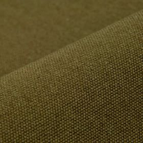 Samba - Brown9 - Unpatterned fabric made from cotton and viscose in a dark shade of Army green