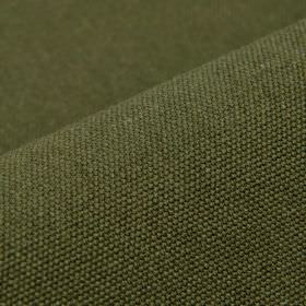 Samba - Green (25) - Plain fabric made from cotton and viscose in a dark shade of emerald green