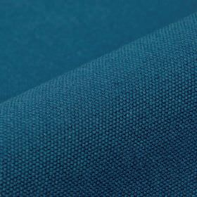 Samba - Blue (31) - Plain midnight blue coloured fabric containing a 75% cotton and 25% viscose blend