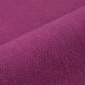 Samba - Pink Purple - Cotton and viscose blend fabric made in a plain, deep fuschia colour