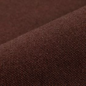 Samba - Purple - Fabric blended from cotton and viscose in dark chocolate brown with no pattern