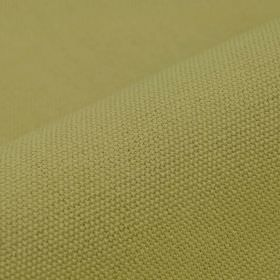 Samba - Beige - Kiwi green coloured cotton and viscose blend fabric