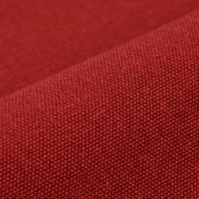 Samba - Pink3 - Scarlet coloured fabric made from an unpatterned combination of cotton and viscose