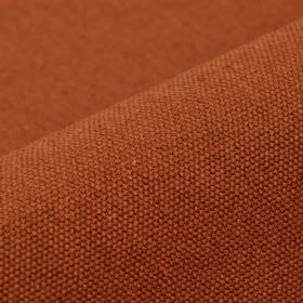 Samba - Orange (43) - Fabric made from cotton and viscose in a plain, deep colour that's a blend of warm brown and burnt orange
