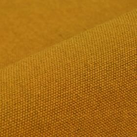 Samba - Orange3 - Mustard yellow coloured cotton and viscose blend fabric made with no pattern