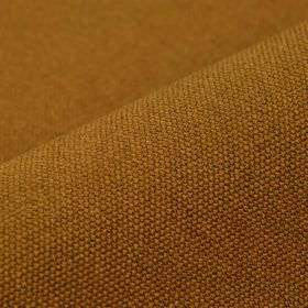 Samba - Orange Brown - Cotton and viscose blend fabric made in a warm golden brown colour