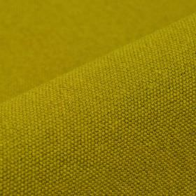 Samba - Yellow - Lime green coloured fabric containing an unpatterned 75% cotton and 25% viscose blend