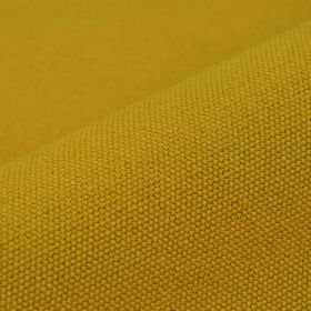 Samba - Orange Yellow - Plain fabric containing a cotton and viscose blend in a mustard yellow colour with a very subtle green tinge