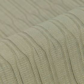 Tatami CS - Grey (4) - 100% Trevira CS fabric made in light grey, with a pattern of uneven horizontal and vertical lines
