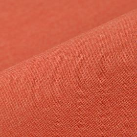 Salina - Red - Polyester and viscose blend fabric made in a light shade of terracotta