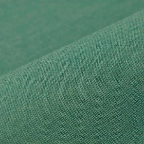 Salina - Blue Green (21) - Fabric made from polyester and viscose in a deep jade colour