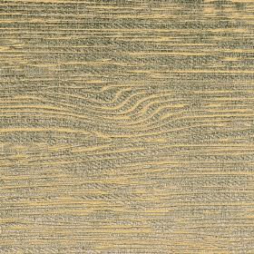 Hekla - Blue - Streaks in dark grey-blue and light orange running unevenly across cotton, polyester and viscose blend fabric
