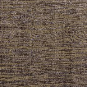Hekla - Purple Blue (3) - Fabric made from cotton, polyester and viscose with a woodgrain effect print pattern in dark shades of brown and p
