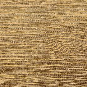 Hekla - Beige - Light orange and dark brown streaks running unevenly in a woodgrain style pattern on fabric made from several materials