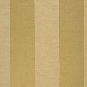 Furnas - Beige - Fabric made from gold and latte coloured polyester and rayon with a simple regular, evenly spaced vertical stripe design