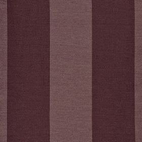 Furnas - Purple (5) - Aubergine and dusky shades of purple making up a regular, even, vertical stripe design on polyester & rayon blend fabr