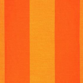 Furnas - Orange - Polyester and rayon blend fabric made in bright and light shades of orange, with a simple, regular, even stripe design