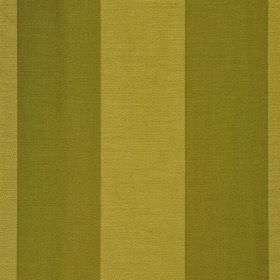 Furnas - Green - A regular, even design printed in olive green and grass green on a vertically striped polyester and rayon blend fabric