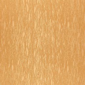 Foessa - Beige (3) - Caramel coloured 100% polyester fabric featuring a few small, patchy areas in a lighter pale yellow colour