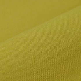 Salina - Yellow (8) - Fabric made from an unpatterned, lime green coloured blend of polyester and viscose