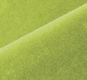 Scala - Green (128) - Cotton and polynosic mixed together into a plain fabric in a very bright, vivid shade of apple green