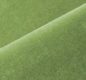 Scala - Green (130) - Light, bright green coloured cotton and polynosic blend fabric made with no pattern