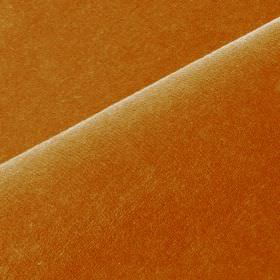 Scala - Orange (19) - Cotton and polynosic blended together into a plain fabric made in a dark orange colour